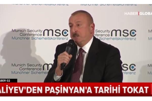 """Türkiyə telekanalı: """"Əliyevdən Paşinyana tarixi sillə"""" – VİDEO"""