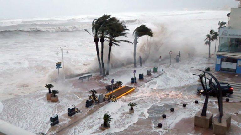 İspaniyada güclü fırtınalar qlobal istiləşmə ilə bağlıdır
