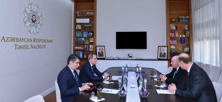Təhsil naziri Rusiya Prezidentinin xüsusi nümayəndəsi ilə görüşüb