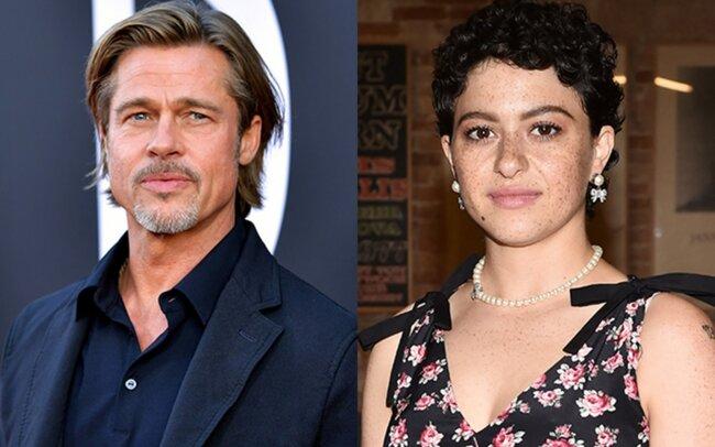 Bred Pitt 30 yaşlı aktrisa ilə eşq yaşayır? – Foto