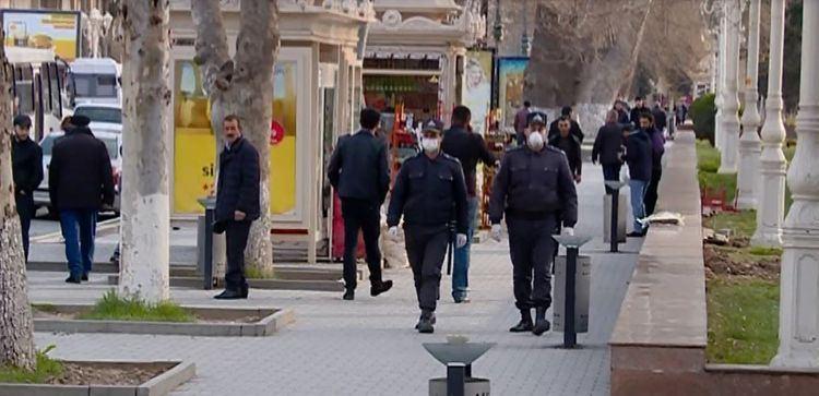 Gəncədə xüsusi karantin rejimi ilə bağlı maarifləndirmə tədbirləri davam etdirilir (FOTO)