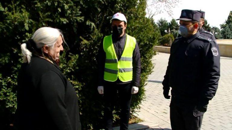DİN: Xüsusi karantin rejiminin tələblərinin yerinə yetirilməsinə nəzarət edilir (FOTOVİDEO)