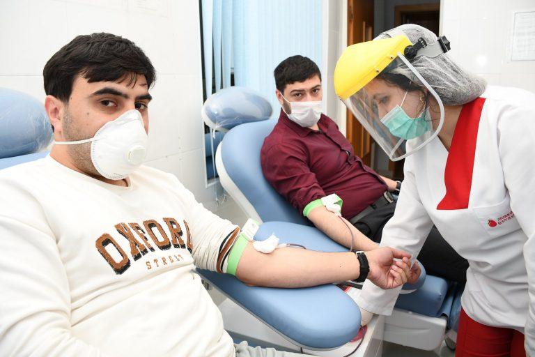 YAP Sumqayıt şəhər təşkilatı tərəfindən qanvermə aksiyası keçirilib
