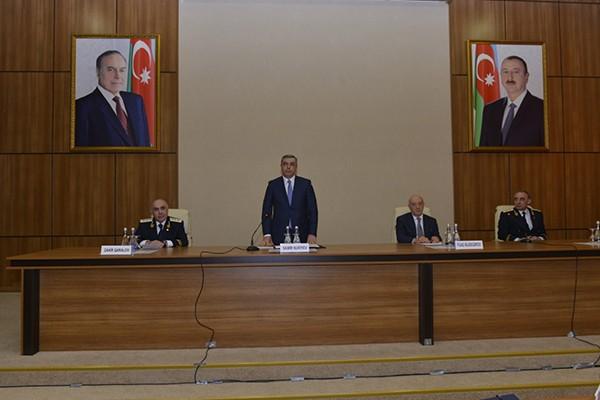 Prezident Adminstrasiyasının rəhbəri yeni baş prokuroru kollektivə təqdim etdi – FOTO