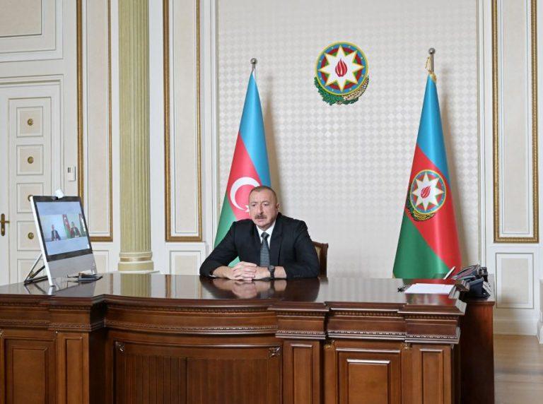 Prezident İlham Əliyev: Xaricdə yaşayan azərbaycanlılar bilirlər ki, onların arxasında güclü Azərbaycan dövləti dayanır