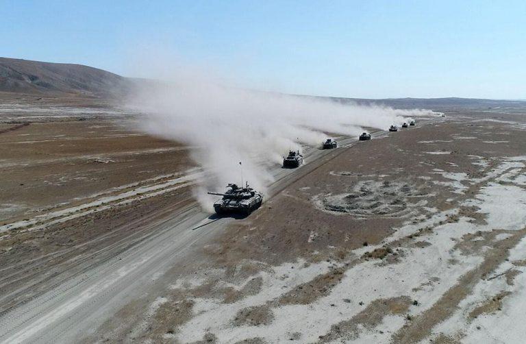 Azərbaycan-Türkiyə birgə genişmiqyaslı taktiki təlimləri davam edir
