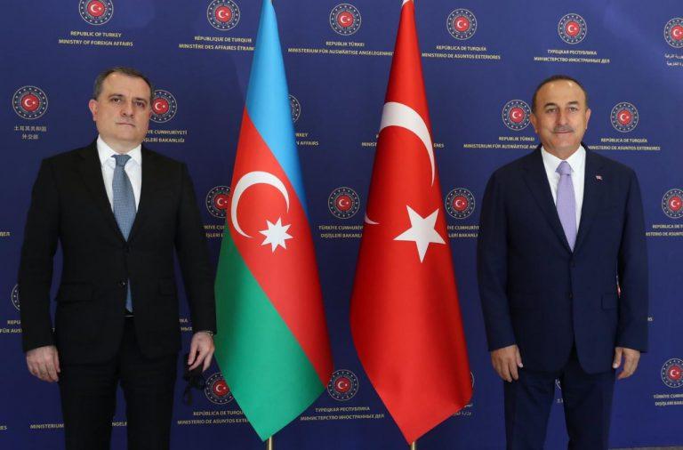 Ankarada Azərbaycan və Türkiyə Xarici İşlər nazirlərinin görüşü keçirilib (FOTO) (YENİLƏNİB)