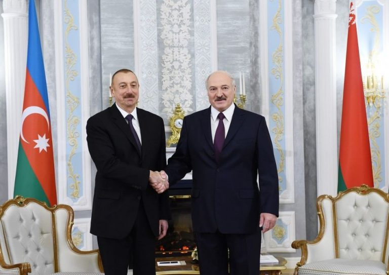 Prezident İlham Əliyev Belarus Prezidenti Aleksandr Lukaşenkonu təbrik edib
