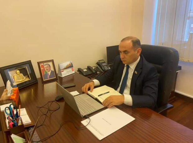 Deputat növbəti videoqəbul keçirdi – FOTOLAR
