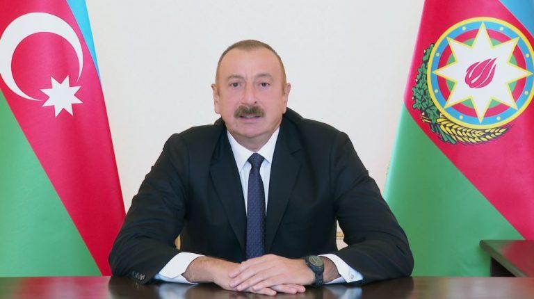 Prezident İlham Əliyev xalqa müraciət edib (YENİLƏNİB) (FOTO)