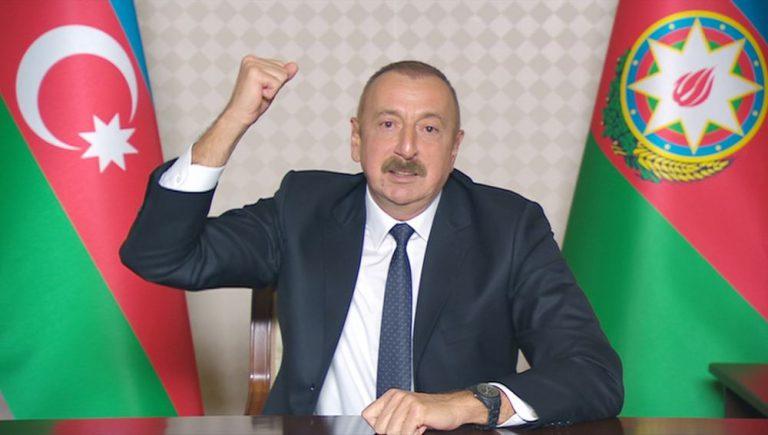 Prezident İlham Əliyev: Zəngilan şəhəri və 24 kənd işğaldan azad olunub