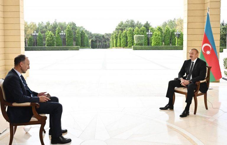 Prezident İlham Əliyev: Mən bir aydır bu sualı verirəm, heç bir cavab yoxdur