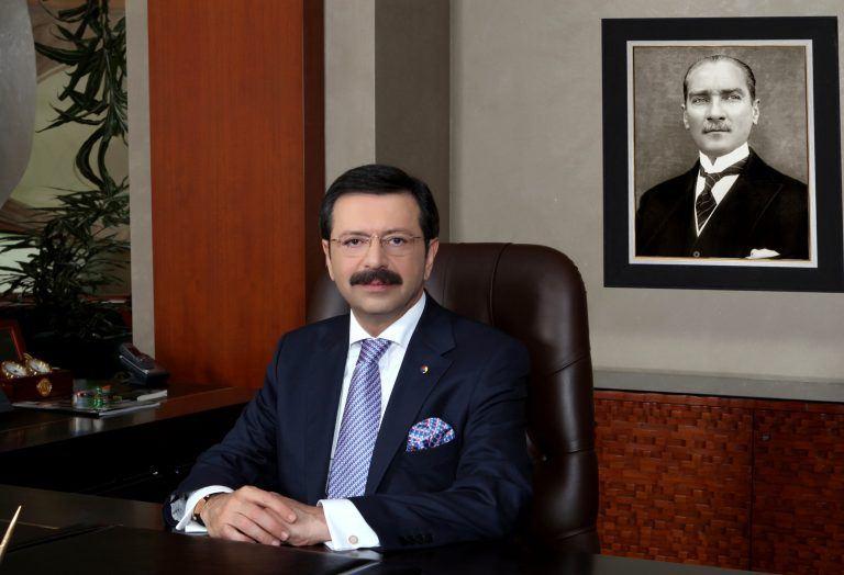 Türk Ticarət və Sənaye Palatasının sədrindən Prezident İlham Əliyevə məktub ünvanlanıb