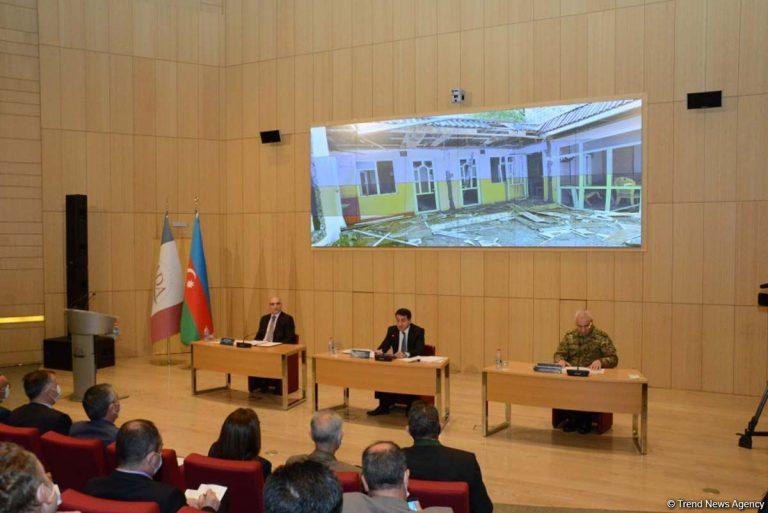 ADA Universitetində ermənilərin Gəncə terroru ilə bağlı diplomatlarla görüş keçirilir (FOTO)