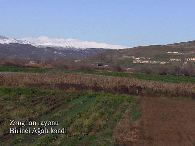 Zəngilan rayonunun Birinci Ağalı kəndi (FOTO/VİDEO)