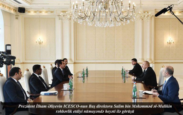 Prezident İlham Əliyev: Torpaqlarımızı işğal altında saxlayan ölkə Azərbaycan mədəniyyətinin izini silmək istəyirdi