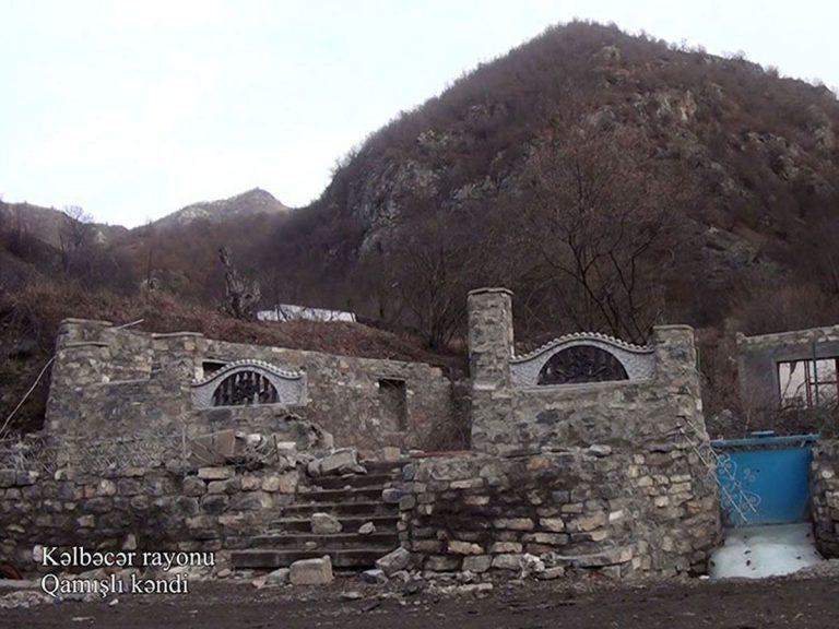 Kəlbəcər rayonunun Qamışlı kəndi (FOTO/VİDEO)