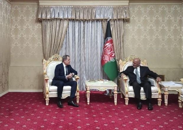 Ceyhun Bayramov Əfqanıstan Prezidenti ilə görüşdü