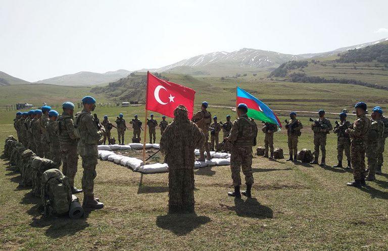 Azərbaycan və Türkiyə ordularının birgə əməliyyat-taktiki təlimləri başlayıb (FOTO/VİDEO)