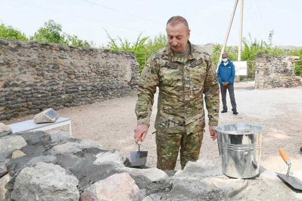 """Prezident: """"Şuşada məscidlərin bərpasına start verilib"""""""