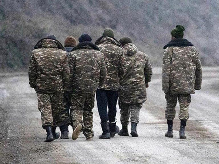 Laçın rayonunda erməni diversant tutuldu