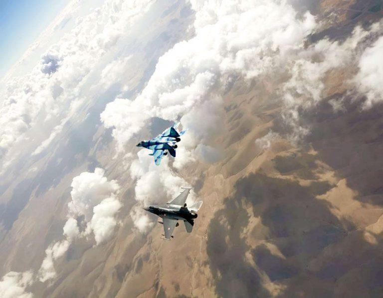 """Hərbi pilotlarımız """"Anadolu Qartalı – 2021"""" təlimində uğurla iştirak edir"""