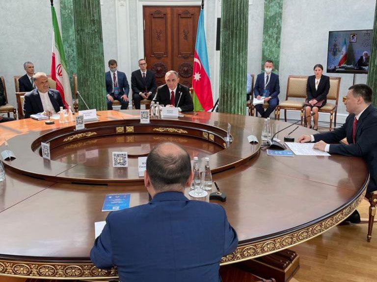 Azərbaycan, Rusiya, İran, Türkmənistan və Qazaxıstan baş prokurorları Xəzərlə bağlı bəyannamə imzalayıb (FOTO)
