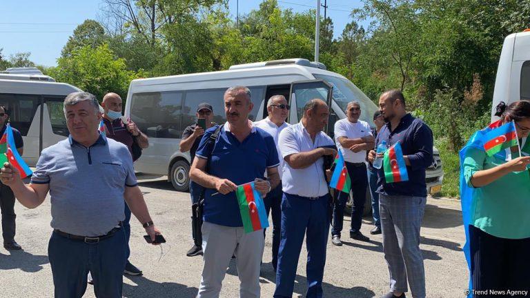 Azərbaycan diaspor nümayəndələri Şuşada (FOTO/VİDEO)