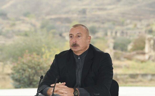 """Prezident: """"Köçkünləri maksimum qısa müddətdə doğma torpaqlarına qaytaracağıq"""""""