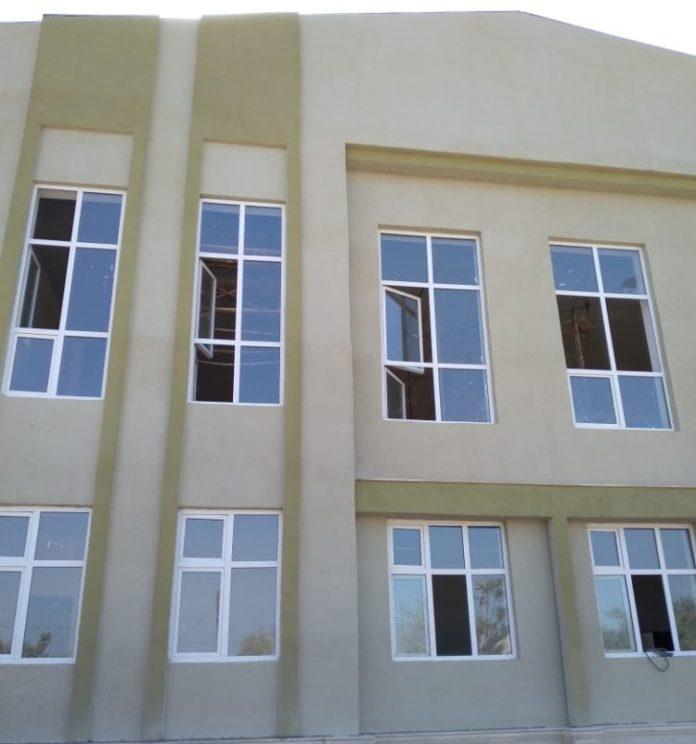 Sarıcalı kəndində müasir tipli yeni məktəb binası inşa olunur